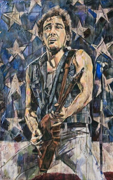 Bruce Springsteen paintings